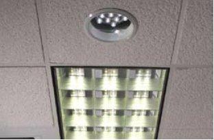 Применения светильников с белыми СД в офисном освещении