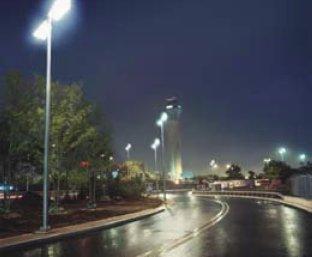 Использование белых СД в уличном освещении